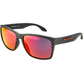 Rudy Project Spinhawk Okulary rowerowe, carbonium - rp optics multilaser red